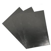 금속 호일로 강화 된 흑연 시트